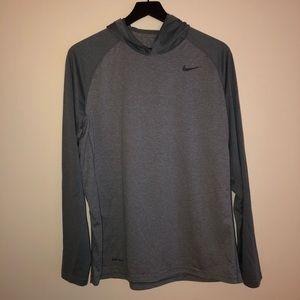 Nike Dri-Fit Men's Long Sleeve Tee with Hood